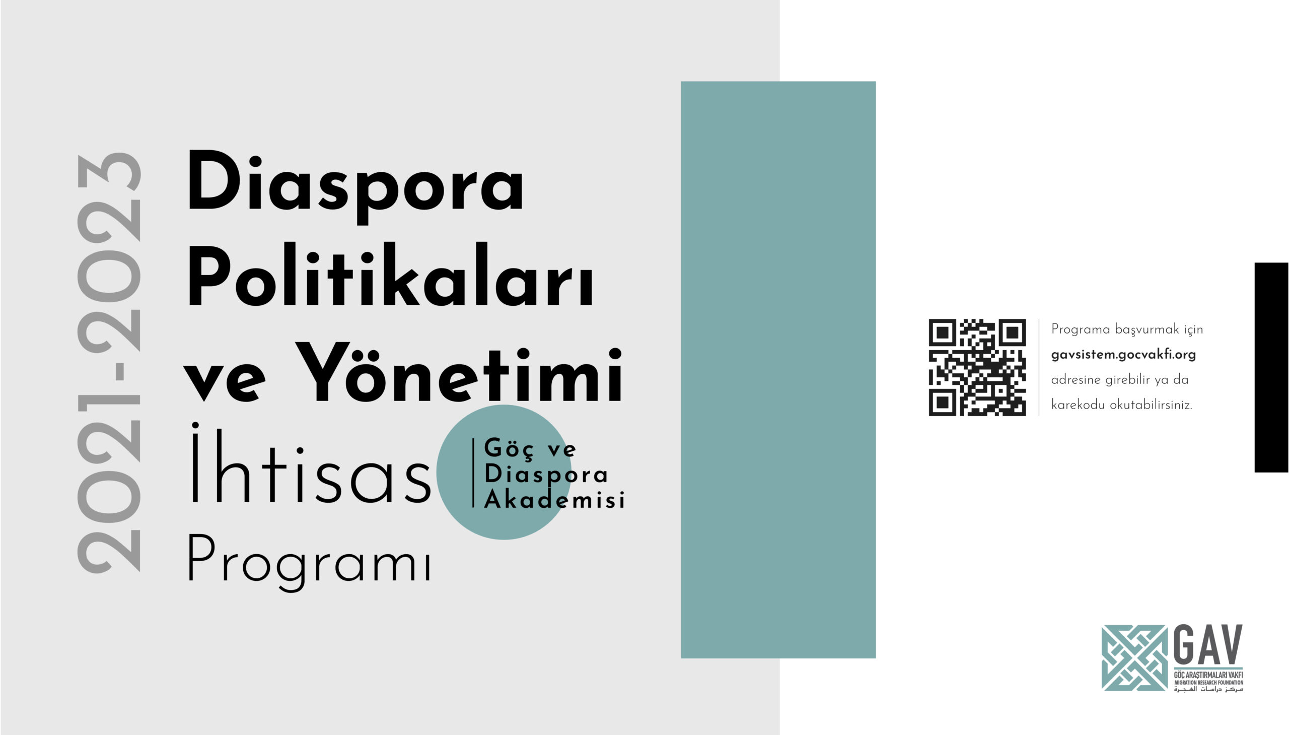 Diaspora Politikaları ve Yönetimi İhtisas Programı