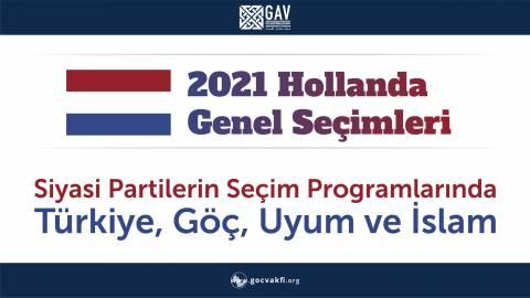 Hollanda Seçimleri İnfografik
