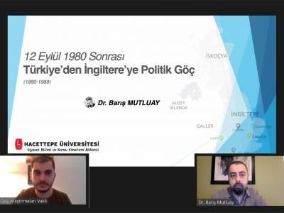 12 Eylül 1980 Sonrası Türkiye'den İngiltere'ye Politik Göç (1980-1989)