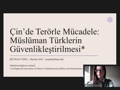 Çin'de Terörle Mücadele: Müslüman Türklerin Güvenlikleştirilmesi