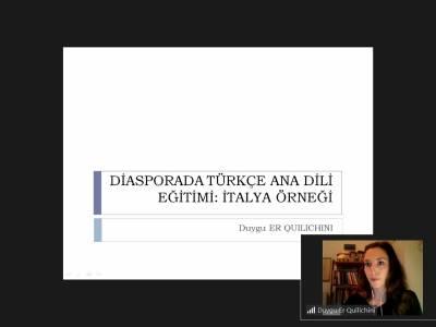 Diasporada Türkçe Ana Dili Eğitimi: İtalya Örneği