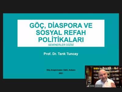 Göç, Diaspora ve Sosyal Refah Politikaları Seminerleri I