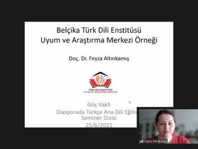Belçika Türk Dili Enstitüsü Uyum ve Araştırma Merkezi Örneği