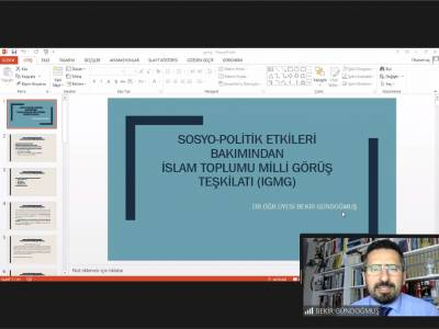 Sosyo-Politik Etkileri Bakımından İslam Toplumu Milli Görüş Teşkilatı