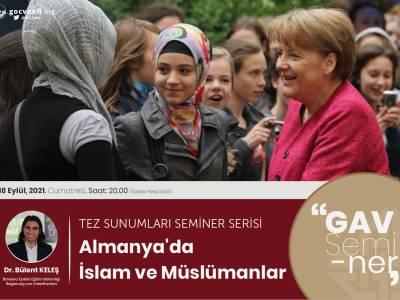 Dr. Bülent Keleş ile Almanya'da İslam ve Müslümanlar